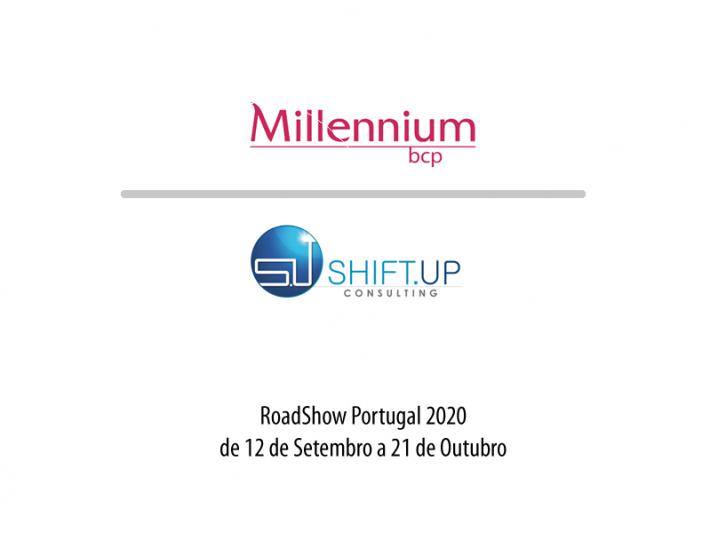 Jornadas Portugal 2020 Millenium BPC e Shift-Up